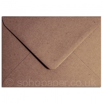 Flecked Kraft Brown Recycled Envelopes 100gsm