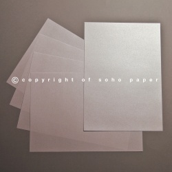 Single Sided Pearl Paper 110gsm