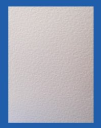Hammer Embossed White Card - 240gsm
