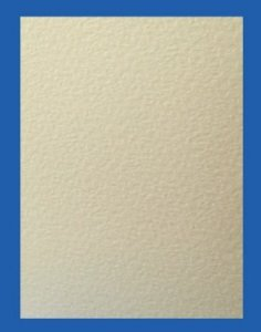 Hammer Embossed Ivory Paper - 90gsm