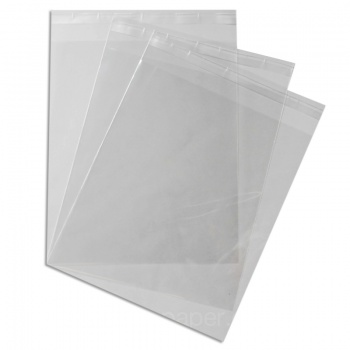 Mount Bags 260 x 307mm + 30mm Lip 40 micron - 10.2 x 12 inches