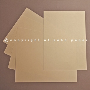 Linen Embossed Ivory Creased Cards 250gsm