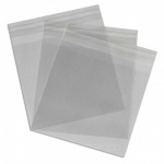 Cello Bags 110 x 105mm + 30mm Lip Self Seal