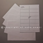 Laser / Inkjet Labels - 14 Labels per Sheet