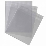 Cello Bags 150 x 145mm + 30mm lip with tape