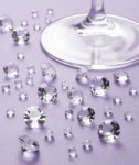Clear Crystals for table decoration