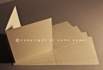 Freelife Vellum Recycled Creased Cards 260gsm