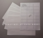 Laser / Inkjet Labels - 24 Labels per Sheet