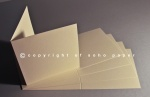 Premium Cream Creased Cards 270gsm