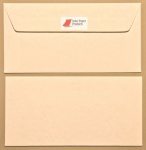 Parchment Bright White DL - 110 x 220mm Envelopes - Peal & Seal Tape