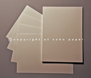 Wedding Card Inserts - Tintoretto Feltmark Natural 95gsm Paper