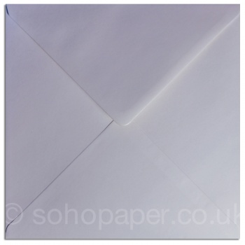 White Greeting Card Envelope 220 x 220mm 100gsm