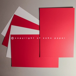 Centura Pearl  Card 310gsm - Xmas Red