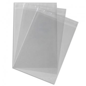 Cello bags 165x 230mm  With Tape