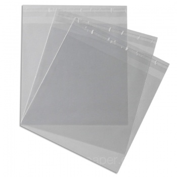 Cello Bags 170 x 165mm with 30mm lip self seal