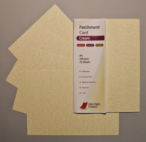 Parchment Cream Card 240gsm
