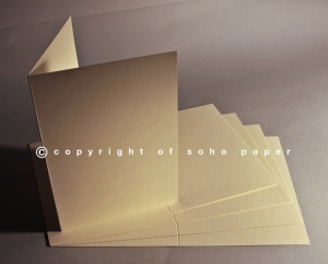 Prestige Smooth Ivory A5 Order of Service Cards