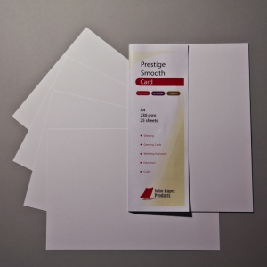 Prestige Smooth Extra White Card 270gsm