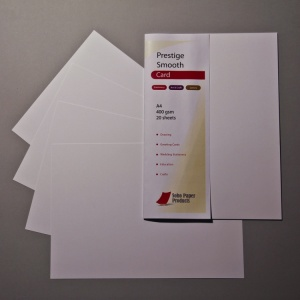Prestige Smooth Extra White Card 400gsm