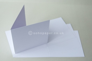 Prestige Smooth Ice White  Creased Cards & Postcards