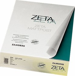 Zetamatt Hammer Embossed Brilliant White  A4  100gsm