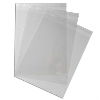 Mount Bags 285 x 360mm + 30mm Lip 40 micron - 11 x 14 inches