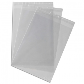 Cello bags 180 x 250mm   With Tape