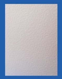 Hammer Embossed White Paper & Card