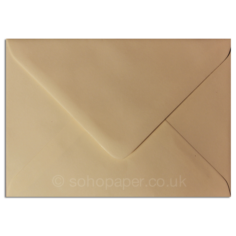 50 x DL Premium Ivory Gummed Envelopes for Greetings Cards 110 x 220mm 100gsm