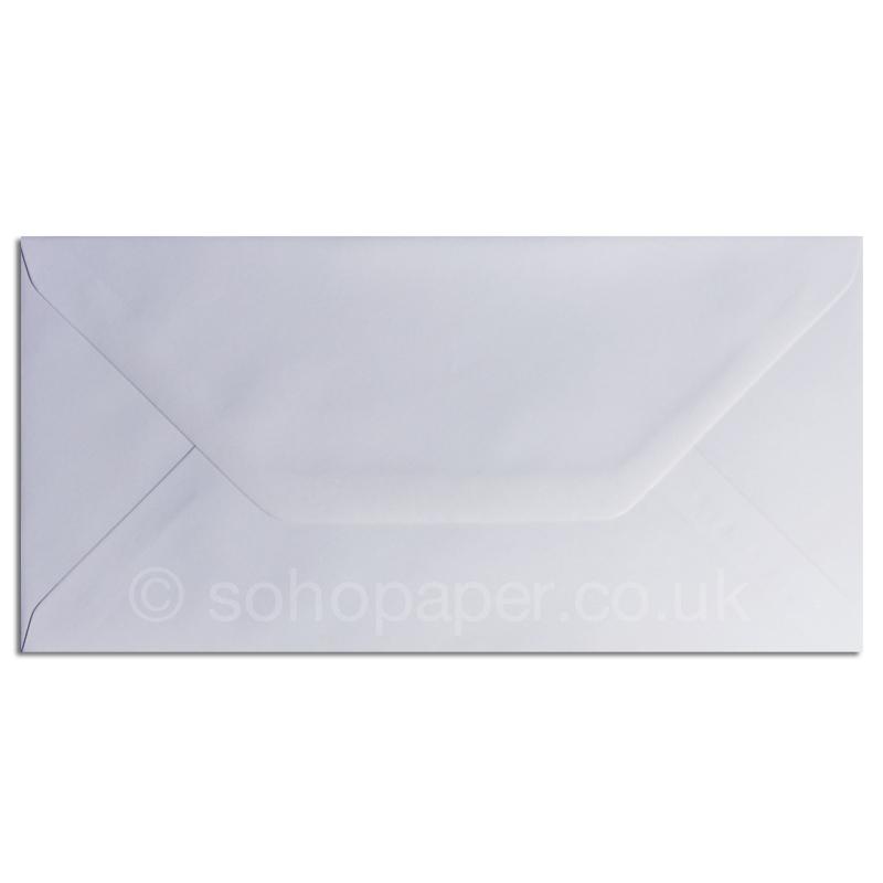 White Dl Greeting Card Envelopes Soho Paper