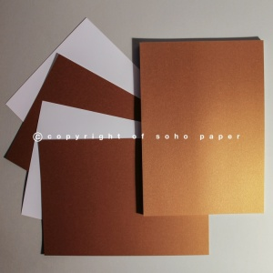 Centura Pearl Card 310gsm - Old Gold