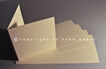 Premium Cream Creased Cards 230gsm