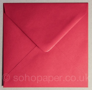 Scarlet Red Envelopes 130 x 130mm 100gsm