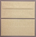 Parchment Sand DL - 110 x 220mm Envelopes - Peal & Seal