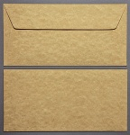 Parchment Gold DL - 110 x 220mm Envelopes