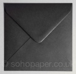 Black 130 x 130mm Envelopes 100gsm