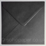Black 155 x 155mm Envelopes 100gsm