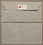 Parchment  Sky Blue DL -110 x 220mm Envelopes - Peal & Seal