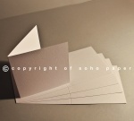 Brampton Felt Extra White Creased Cards 280gsm