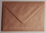 Ribbed Kraft 133 x 184mm Envelopes 100gsm