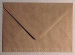 Kraft Ribbed C6 Envelopes