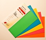 Laser Tints  Assorted Bright Shades Card  A4  160gsm