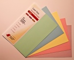 Laser Tints  Assorted Pastel Shades Card A4  160gsm