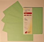 Laser Tints  Green Paper  A4  80gsm