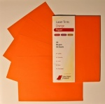 Laser Tints Orange Paper A4  80gsm