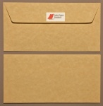 Parchment Light Gold DL - 110 x 220mm Envelopes - Peal & Seal