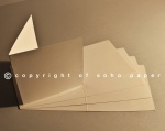 Pearl Creased Cards  Polar 300gsm