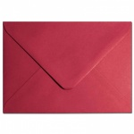 Scarlet Red C6 -114x 162mm Envelopes 100gsm