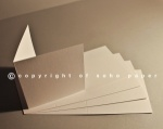 Soho Felt Marked Creased Cards 250gsm