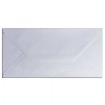 White Greeting Card Envelopes 110 x 220mm - DL 100gsm